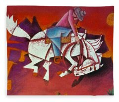 Moonlight Ride Fleece Blanket