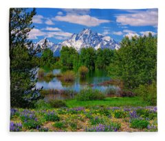 Moran From Pilgrim Creek Fleece Blanket