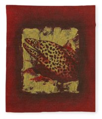 Moray Eel Fleece Blanket