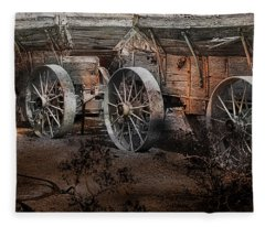 More Wagons East Fleece Blanket