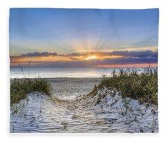 Morning Blessing Fleece Blanket