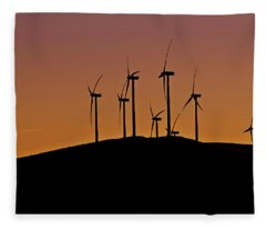 Morning Breeze Fleece Blanket