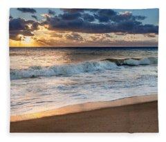 Morning Clouds Fleece Blanket