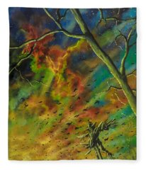 Morning Flight Fleece Blanket