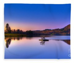 Morning Glory.. Fleece Blanket
