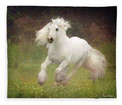 Morning Mist C Fleece Blanket