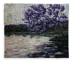 Morning Reflections Fleece Blanket