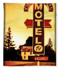 Motel Hell Fleece Blanket