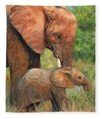 Mother Love 2 Fleece Blanket