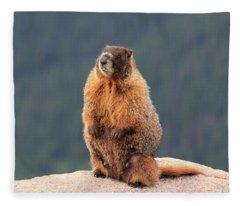Mother Marmot Fleece Blanket