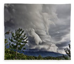 Mother Nature Showing Off V2 Fleece Blanket
