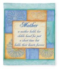 Mother's Day Spa Fleece Blanket