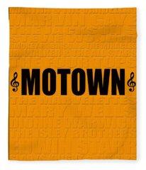 Motown Fleece Blanket