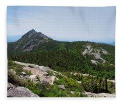 Mount Chocorua From The Sisters Fleece Blanket