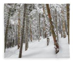 Mount Jim - Kinsman Notch New Hampshire Usa  Fleece Blanket