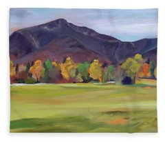 Mount Osceola New Hampshire Fleece Blanket
