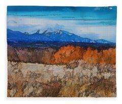 Mount Princeton Fleece Blanket