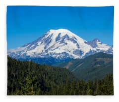 Mount Rainier Fleece Blanket