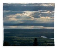 Mount Susitna Fleece Blanket