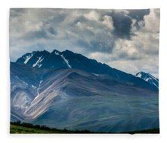 Mountain Landscape Fleece Blanket