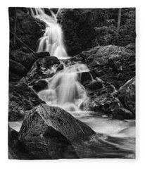 Mouse Creek Falls Fleece Blanket