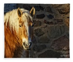 Mr. Handsome Fleece Blanket
