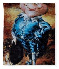Mr Toad Fleece Blanket