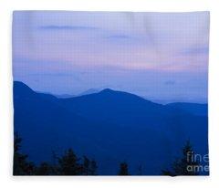 Mt Tecumseh - Waterville Valley New Hampshire Usa Fleece Blanket
