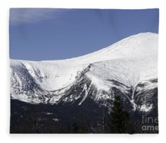 Mt Washington And Tuckerman's Ravine Fleece Blanket