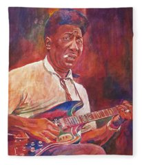 Muddy Waters Fleece Blanket