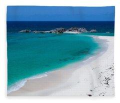 Mudjin Harbour Fleece Blanket