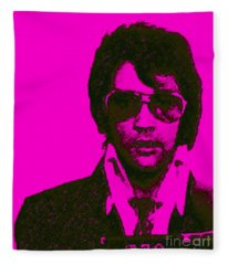 Mugshot Elvis Presley M80 Fleece Blanket