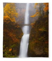 Multnomah Morning Fleece Blanket