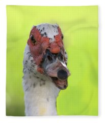 Muscovy Duck Fleece Blanket