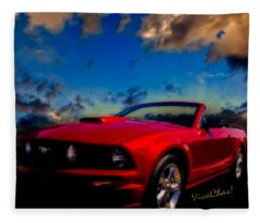 Ford Mustang Dream Fleece Blanket