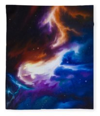 Mutara Nebula Fleece Blanket