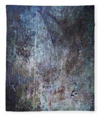 Muted Blues Fleece Blanket