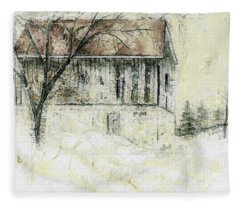 Caledon Barn Fleece Blanket