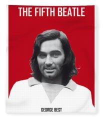 My Best Soccer Legend Poster Fleece Blanket