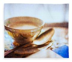 My Cup Of Tea Fleece Blanket