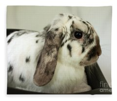 My Friend Bunny Fleece Blanket