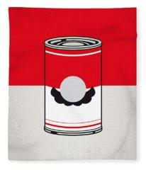 My Mario Warhols Minimal Can Poster-mario Fleece Blanket