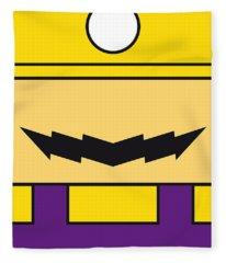 My Mariobros Fig 04 Minimal Poster Fleece Blanket
