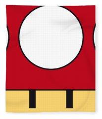My Mariobros Fig 05a Minimal Poster Fleece Blanket