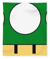 My Mariobros Fig 05b Minimal Poster Fleece Blanket
