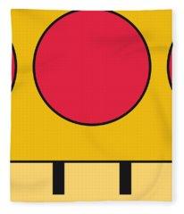 My Mariobros Fig 05c Minimal Poster Fleece Blanket