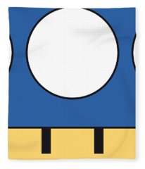 My Mariobros Fig 05d Minimal Poster Fleece Blanket