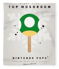 My Nintendo Ice Pop - 1 Up Mushroom Fleece Blanket