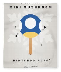 My Nintendo Ice Pop - Mini Mushroom Fleece Blanket