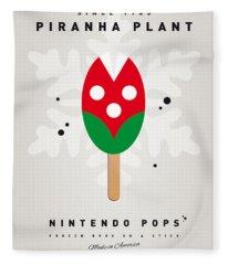 My Nintendo Ice Pop - Piranha Plant Fleece Blanket
